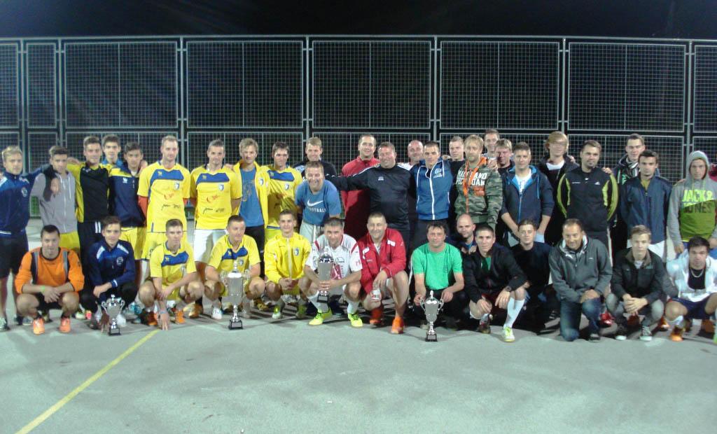 Liga v malem nogometu za leto 2014
