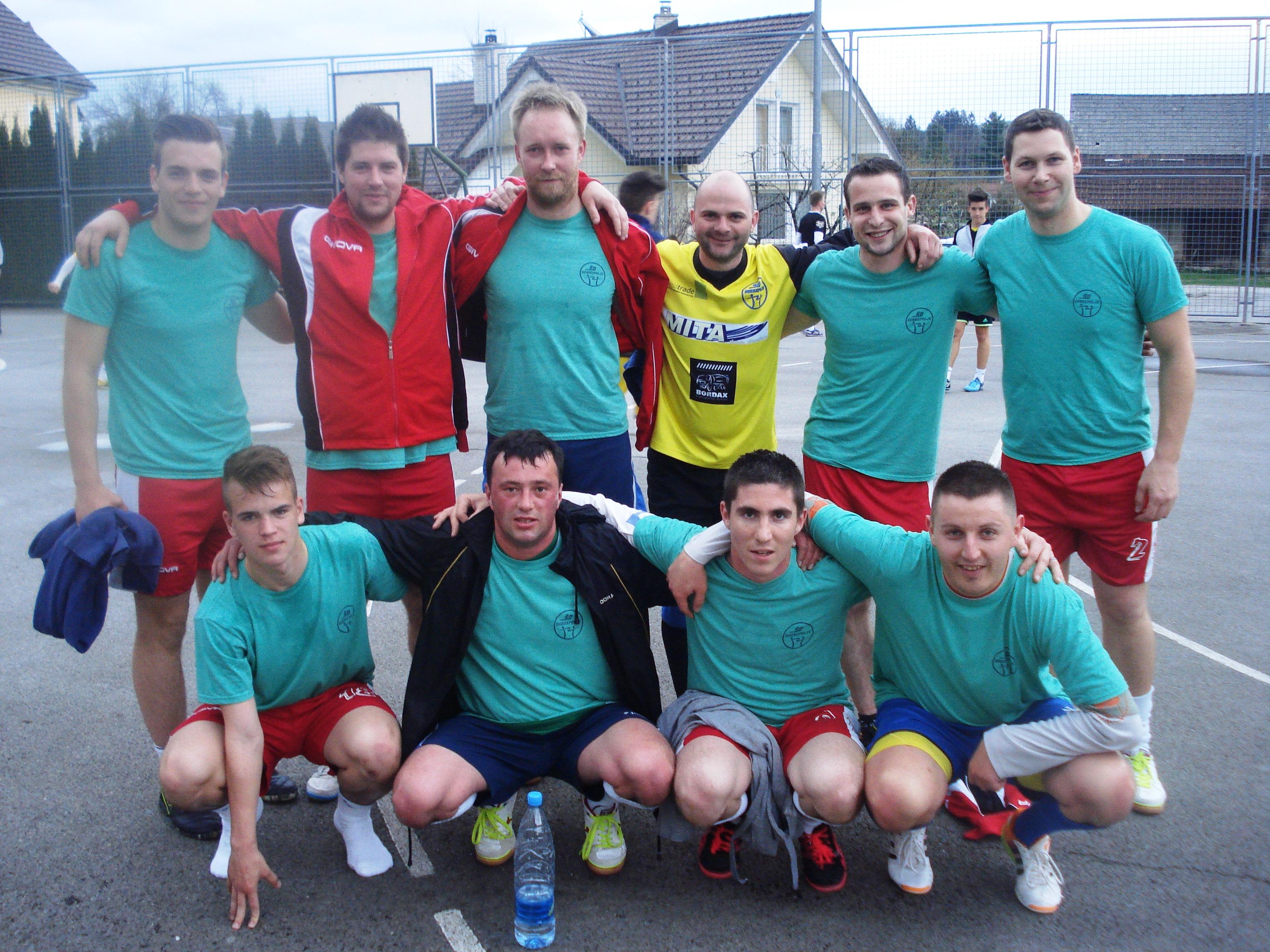 Končan je tudi drugi krog futsal lige