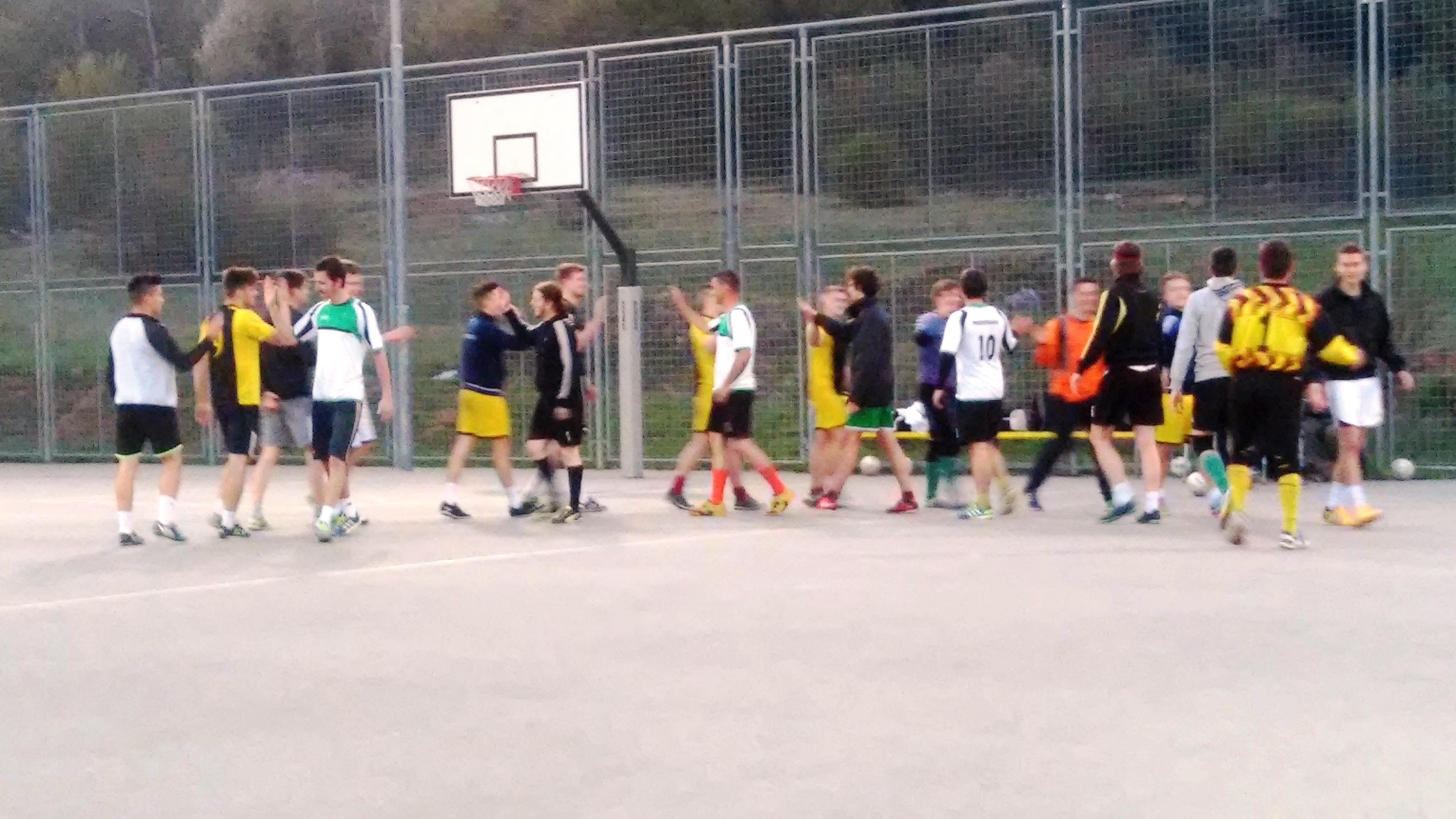 Tretji krog futsal lige 2015