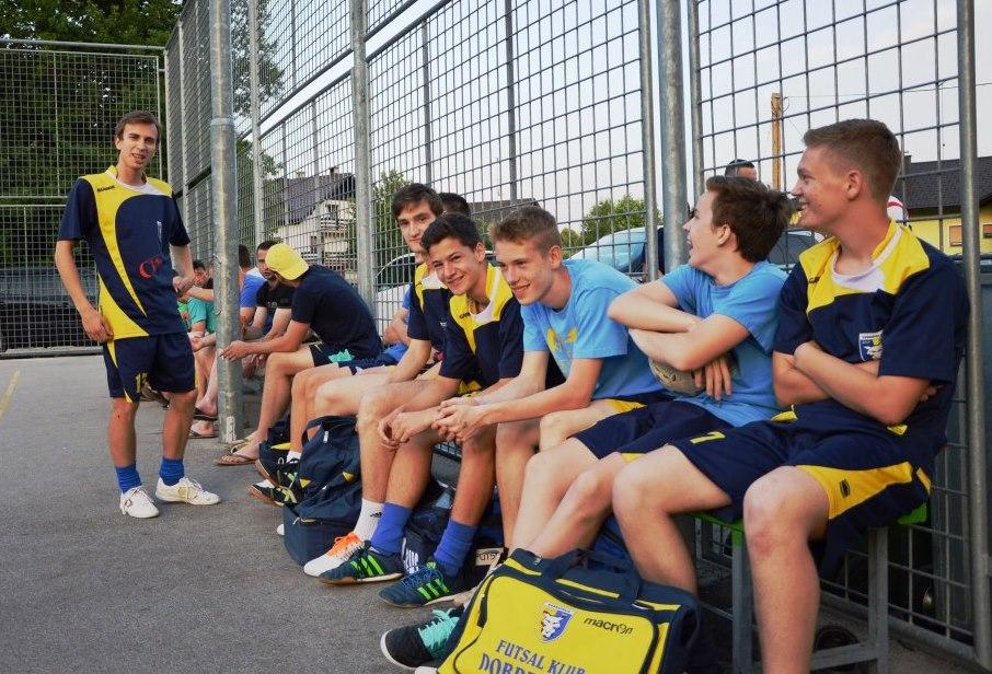 9. krog futsal lige ustoličil K team ŠD Kompolje na prvem mestu